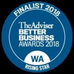 Finalist Rising Star Better Business Award